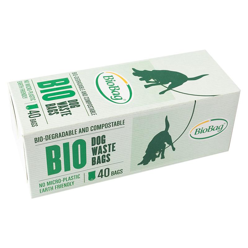Еко-пакети BioBag для прибирання за собаками, 40 шт.