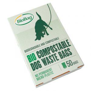 Еко-пакети BioBag для прибирання за собаками, 50 шт.