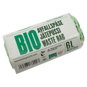 Еко-пакети для сміття BioBag 6 л