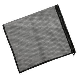 Экомешочек для продуктов черный, размер M (20 x 26 см)