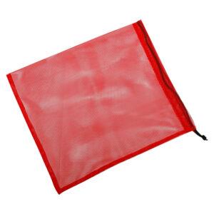 Экомешочек для продуктов красный, размер M (20 x 26 см)