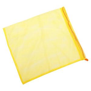 Экомешочек для продуктов желтый, размер M (20 x 26 см)
