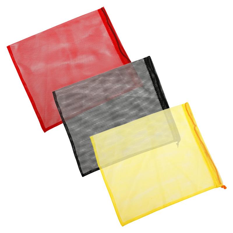 Екомішечок для продуктів червоний, розмір M (20 x 26 см)