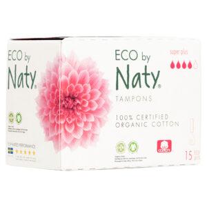 Гигиенические тампоны Eco by Naty Super Plus Digital, 4 капли, 15 шт