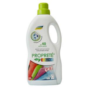 Екологічний рідкий засіб для прання Proprete Colour, 1л