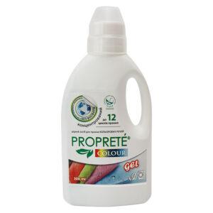 Екологічний рідкий засіб для прання Proprete Colour, 300 мл