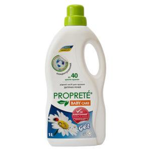 Экологичное жидкое средство для стирки Proprete Baby Care, 1 л
