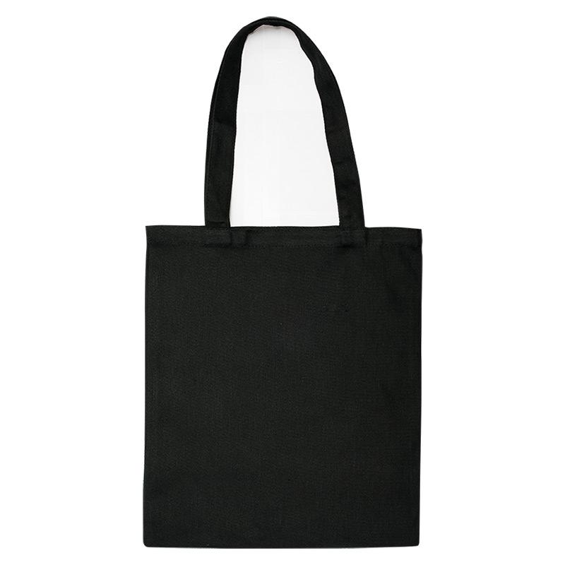 Екосумка-шопер чорна, 100% бавовна