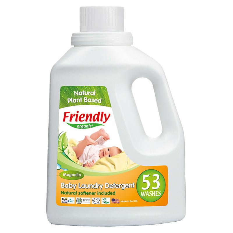 """Органічний засіб для прання """"FRIENDLY ORGANIC"""" магнолія, 1567 мл"""