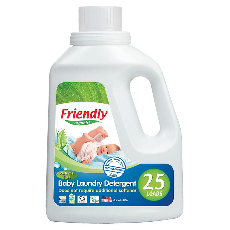 """Органічний засіб для прання """"FRIENDLY ORGANIC"""" без запаху, 739 мл"""