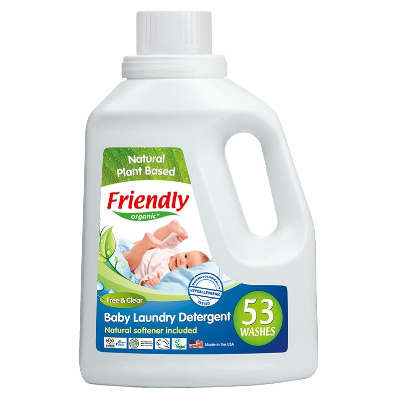 """Органічний засіб для прання """"FRIENDLY ORGANIC"""" без запаху, 1567 мл"""