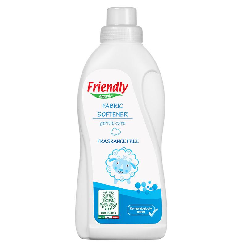 """Органічний пом'якшувач для прання """"FRIENDLY ORGANIC"""" без запаху, 750 мл"""