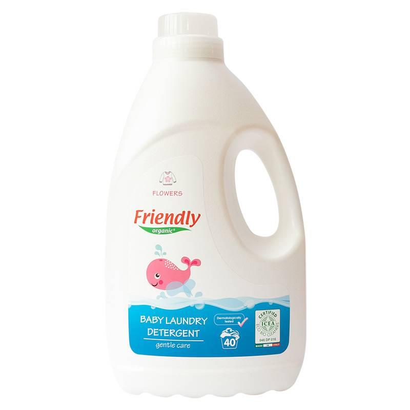 """Органічний засіб для прання """"FRIENDLY ORGANIC"""" квітковий, 2000 мл"""