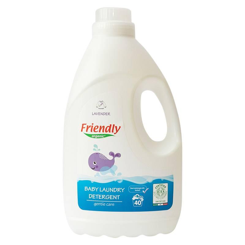 """Органічний засіб для прання """"FRIENDLY ORGANIC"""" лаванда, 2000 мл"""