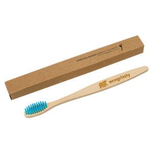 Зубна щітка Ecogrizzly бамбукова (синя)