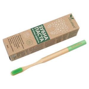 Комплект Здорові зуби: зубна щітка Ecopanda та паста Delamark
