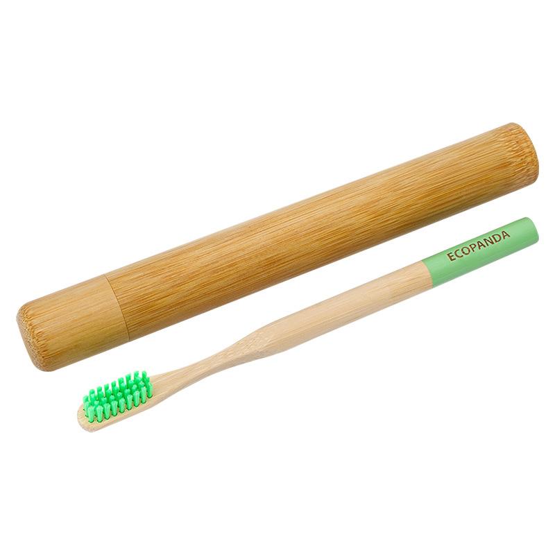 Зубна щітка Ecopanda з футляром