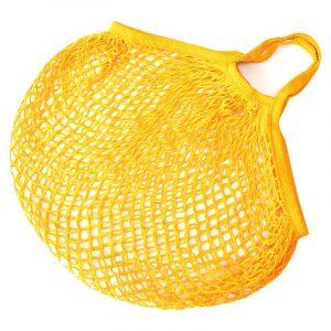 Авоська-шопер желтая