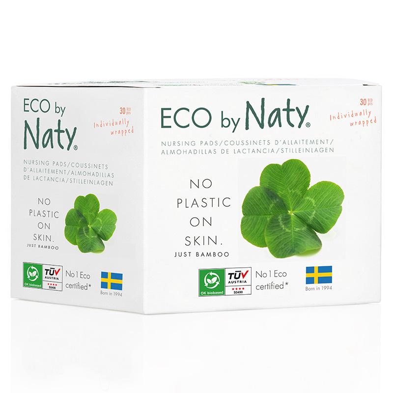 Органічні лактаційні підкладки Eco by Naty, 30 шт.