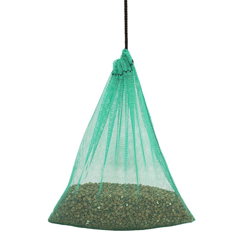 Екомішечок для продуктів зелений, розмір S (18 x 16 см)