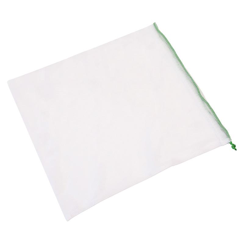 Экомешочок для продуктов белый, размер L (30 x 26 см)