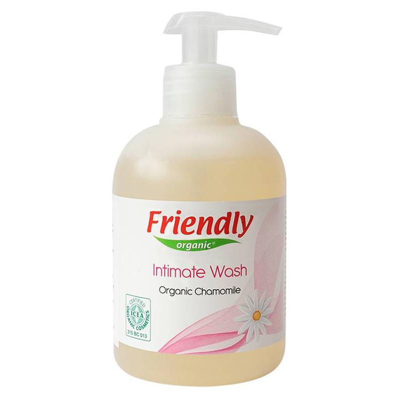 Органічний гель для інтимної гігієни FRIENDLY ORGANIC з ромашкою, 300 мл