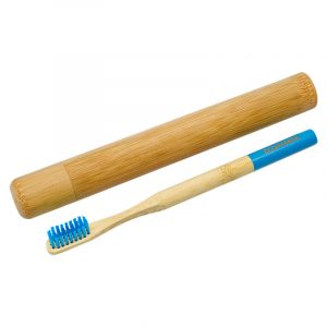 Зубная щетка Ecopanda с футляром