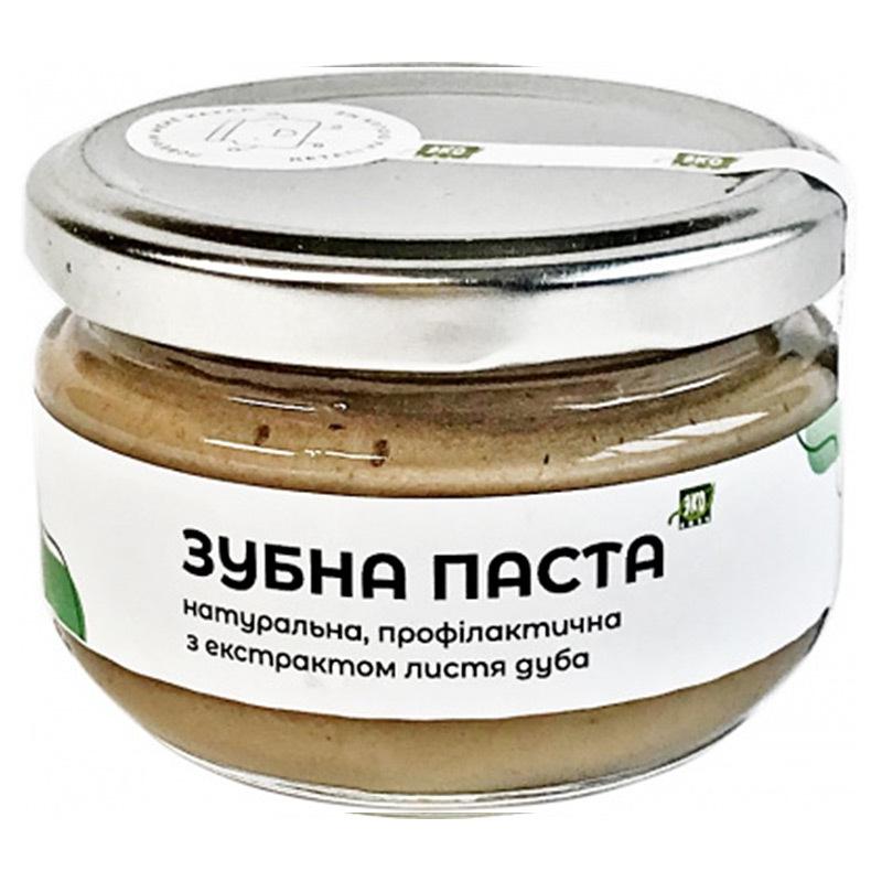 Натуральна зубна паста EKOLUX з екстрактом листя дуба, 100 мл