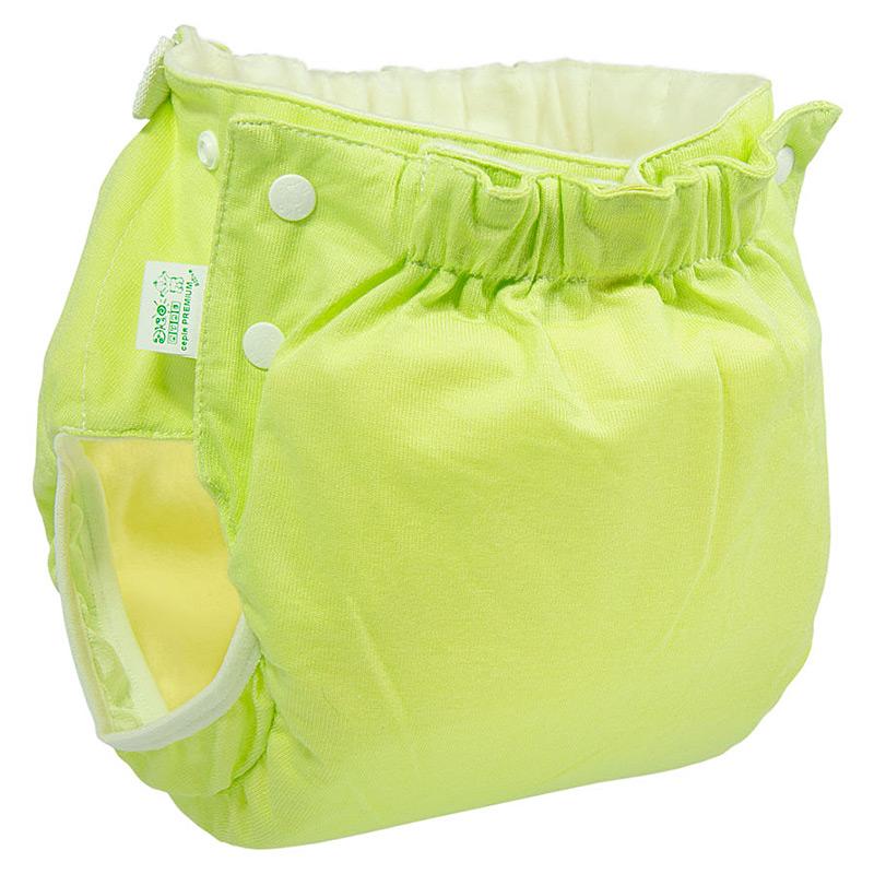 Підгузок трикотажний ЕКО ПУПС Active Premium (від 7 до 13 кг), з вкладишем