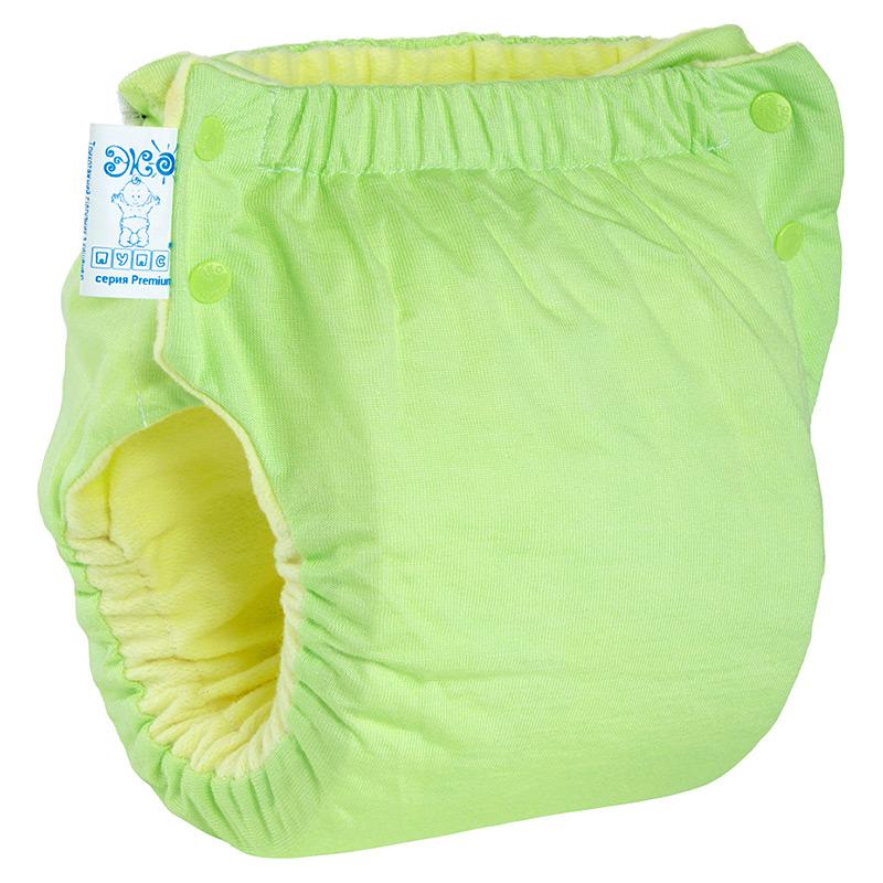 Підгузок трикотажний ЕКО ПУПС Easy Size Premium (від 7 до 13 кг), з вкладишем