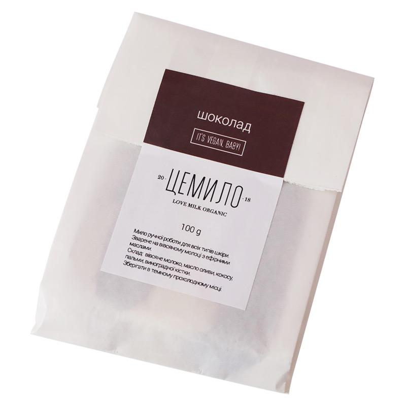 Натуральне мило Cemilo шоколадне, 100 г
