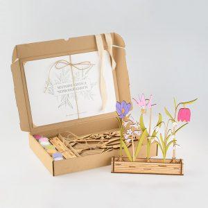 Набор для творчества Весенние цветы из Красной Книги Украины