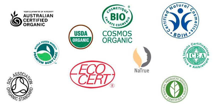 Сертифікати, яким має відповідати органічна косметика