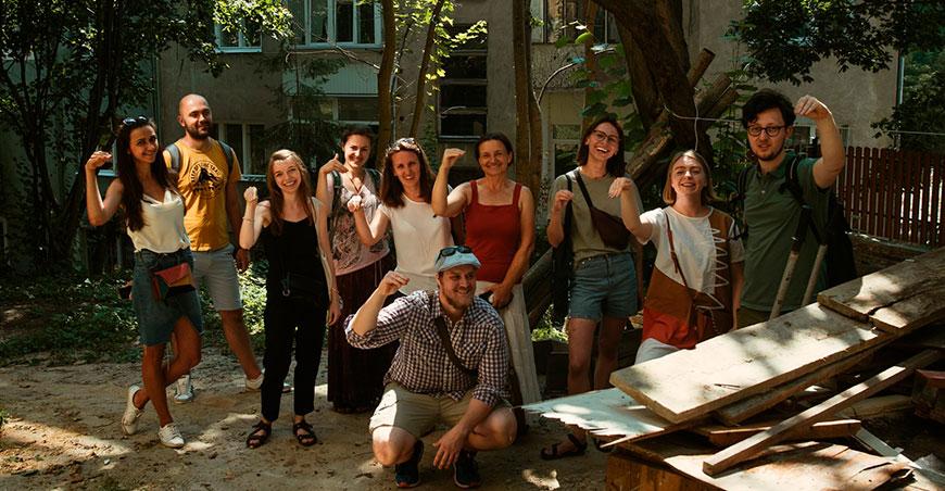 Команда еко-організації Plato