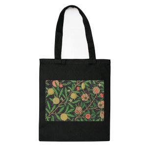Экосумка-шопер «Фруктовые джунгли» с принтом-нашивкой