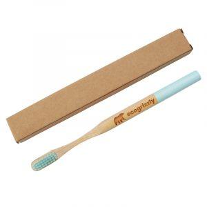 Зубная щетка Ecogrizzly бамбуковая (голубая)