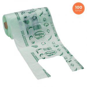 Эко-пакеты майки BioBag 100 шт