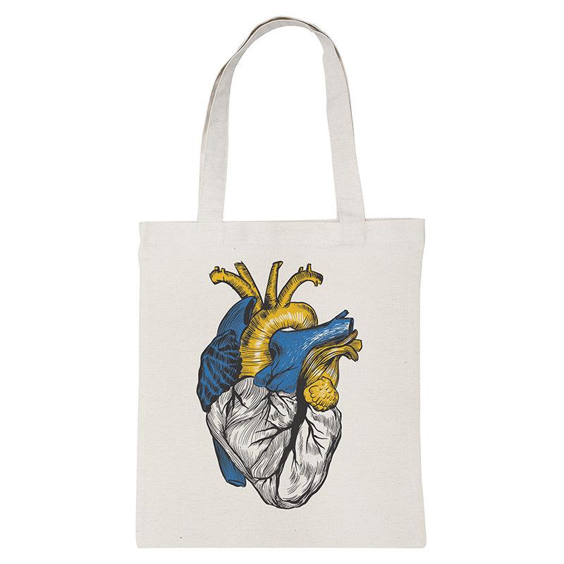 """Екосумка-шопер """"Ukrainian heart"""""""